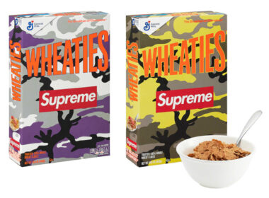 Supreme x Wheaties Cereal