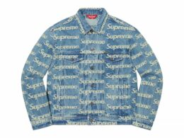 Supreme - Frayed Logos Denim Trucker Jacket